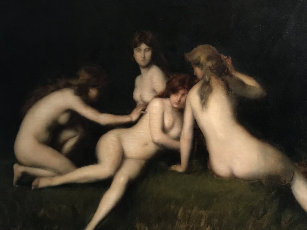 Vue de l'exposition Roux, Musée Jean-Jacques Henner, Paris (46)