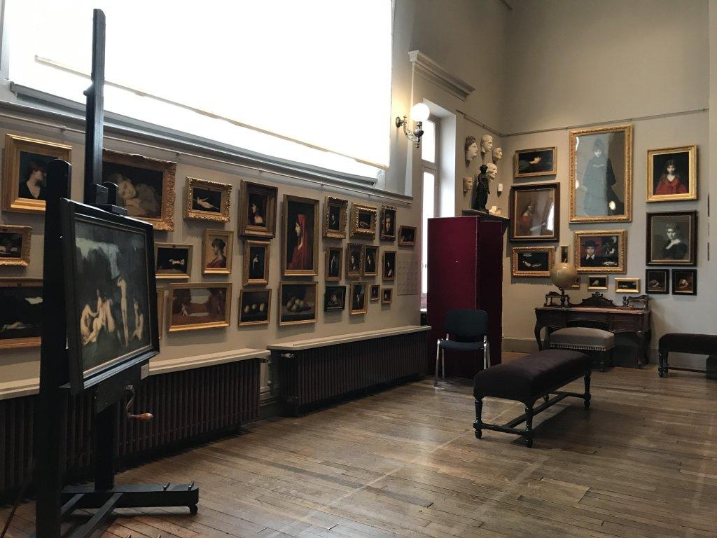 Vue de l'exposition Roux, Musée Jean-Jacques Henner, Paris (47)
