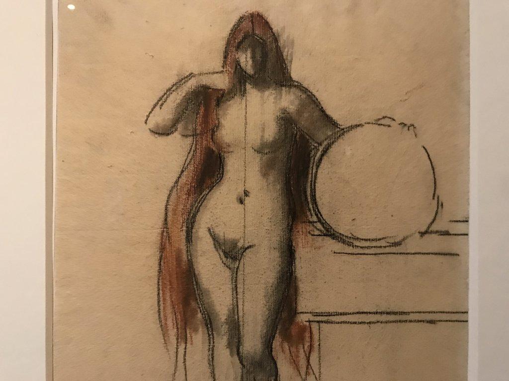 Vue de l'exposition Roux, Musée Jean-Jacques Henner, Paris (52)