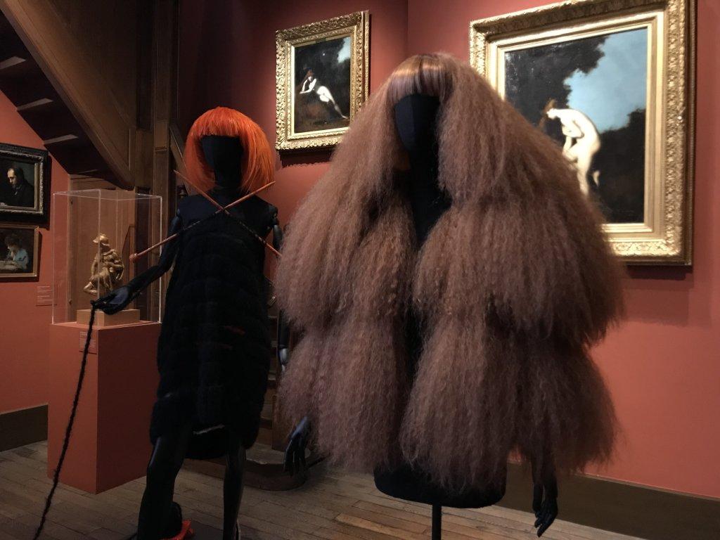 Vue de l'exposition Roux, Musée Jean-Jacques Henner, Paris (54)