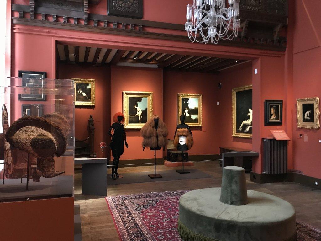 Vue de l'exposition Roux, Musée Jean-Jacques Henner, Paris (58)