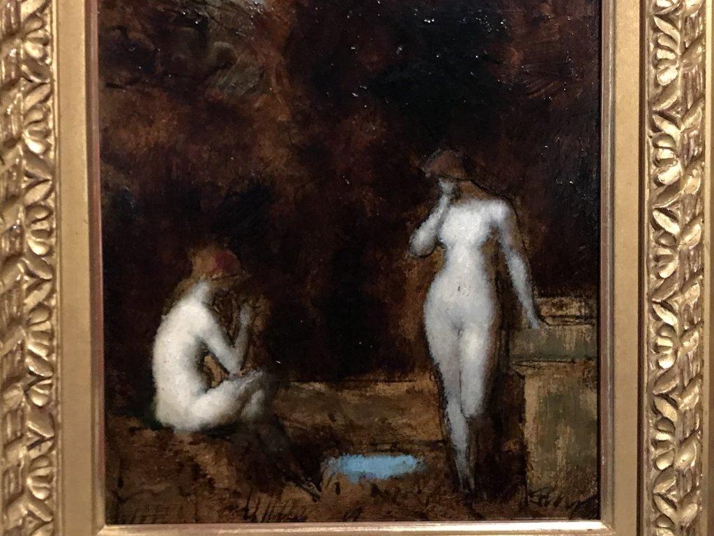 Vue de l'exposition Roux, Musée Jean-Jacques Henner, Paris (63)