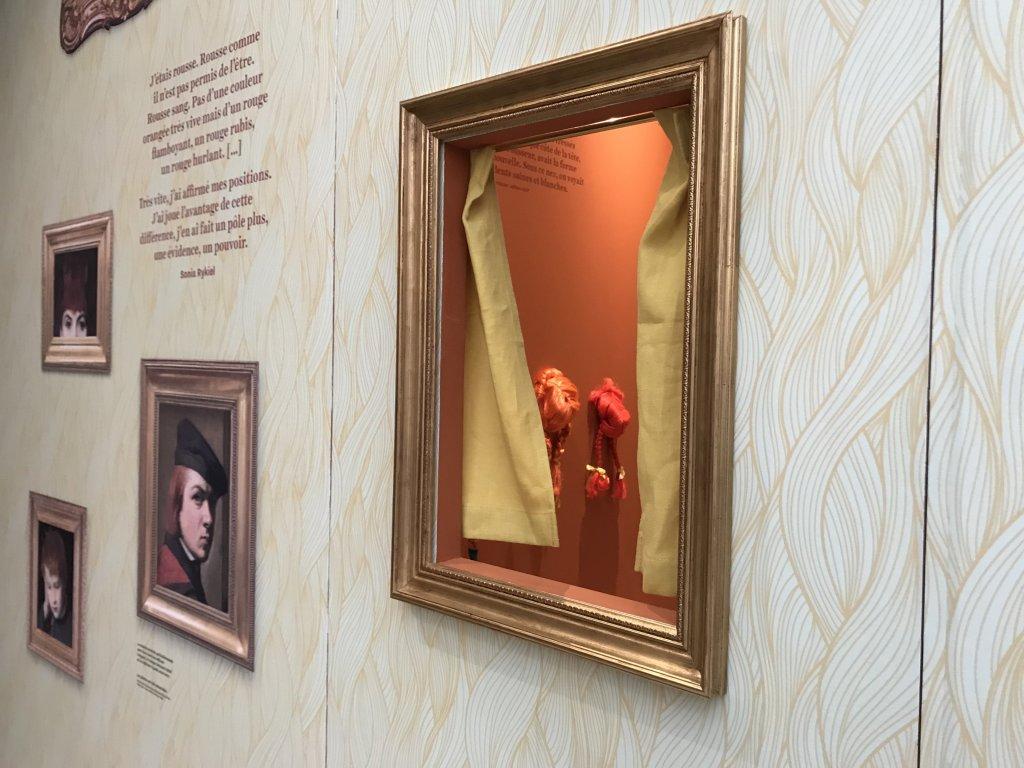 Vue de l'exposition Roux, Musée Jean-Jacques Henner, Paris (64)