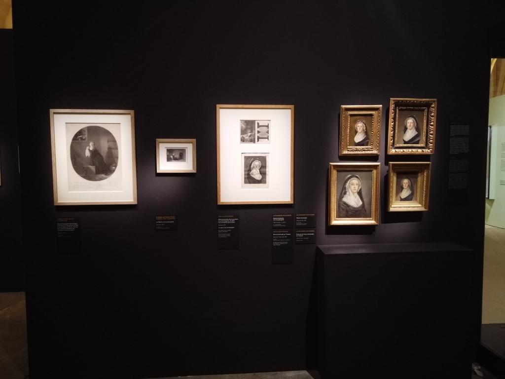 Vue d'exposition Marie-Antoinette - Paris